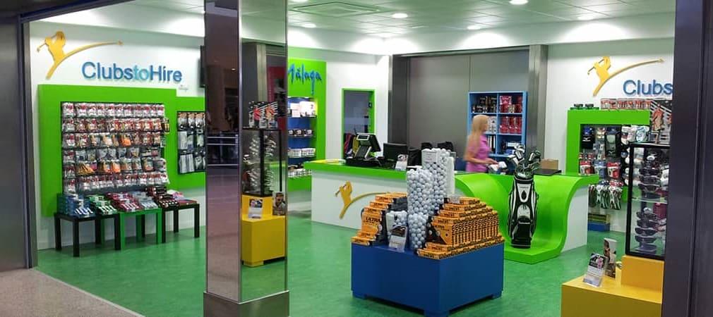 ClubstoHire Glogschläger leihen am Flughafen