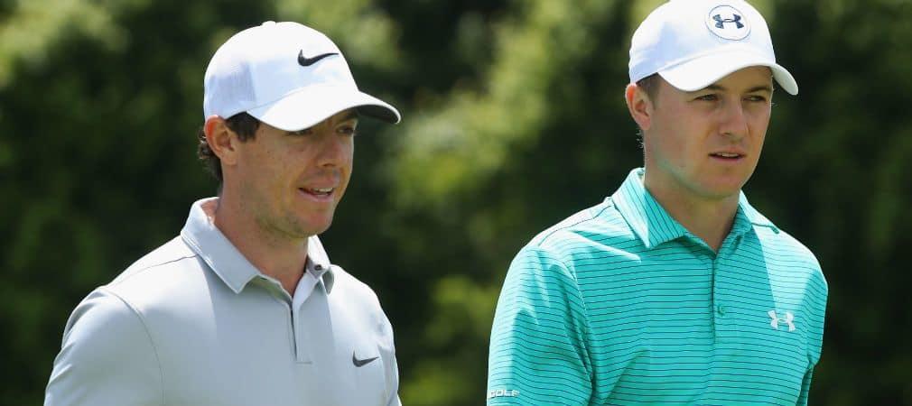 Jordan Spieth und Rory McIlroy finden sich auf der Forbes-Liste zu den bestbezahlten Persönlichkeiten unter 30 Jahren. (Foto: Getty)