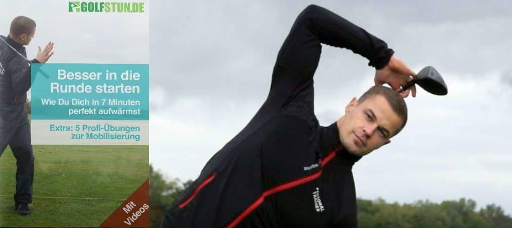 Fitnesstrainer Nino Gräser gibt im iBook