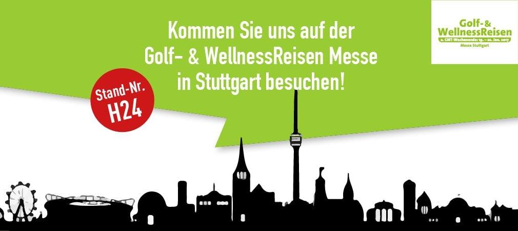 Golf Post zu Gast auf der Golf- & WellnessReisen Messe 2017 in Stuttgart. (Foto: Golf Post)