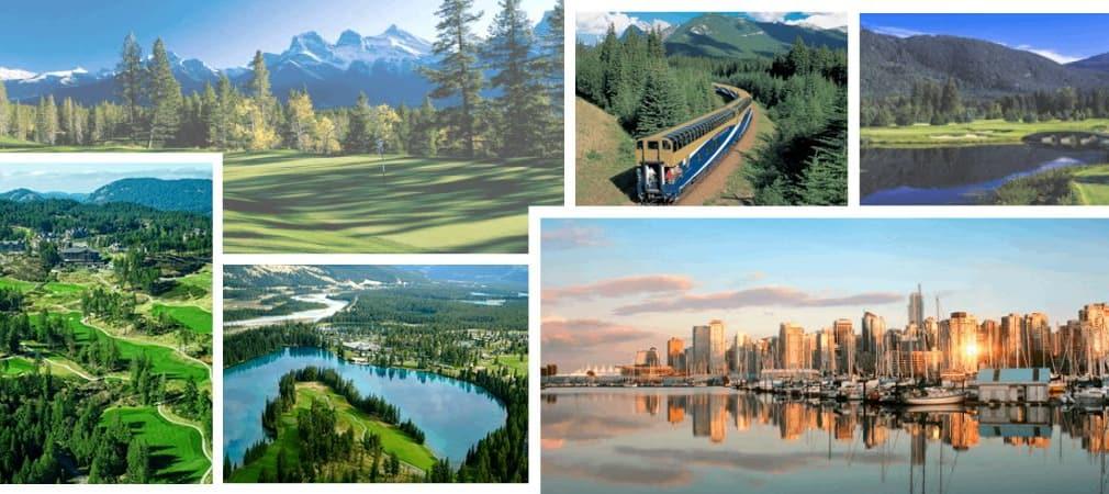 Der Westen Kanadas bietet viele Highlights, landschaftlich ebenso wie für interessante Golfrunden.