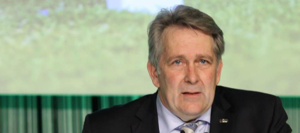 DGV-Präsident Claus Kobold zeigte sich im Interview mit Golf Post nur bedingt zufrieden mit den Zuwachsraten der Mitglieder. (Foto: DGV)