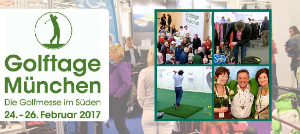 Die Golftage München ist die größte Messe für Golfer in Bayern.