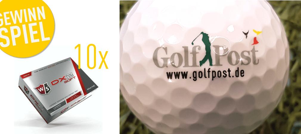 Jetzt mit den Golf Post Logobällen in die Golfsaison 2017 starten! (Bild: Wilson Staff)