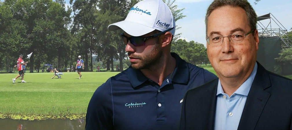 Bernd Ritthammer und DGV-Vorstand Alexander Klose im Golf Post Talk.