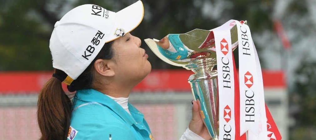 Inbee Park gewinnt bei der HSBC Women's Champions. Es ist ihr erster Sieg seit Rio. (Foto: Getty)
