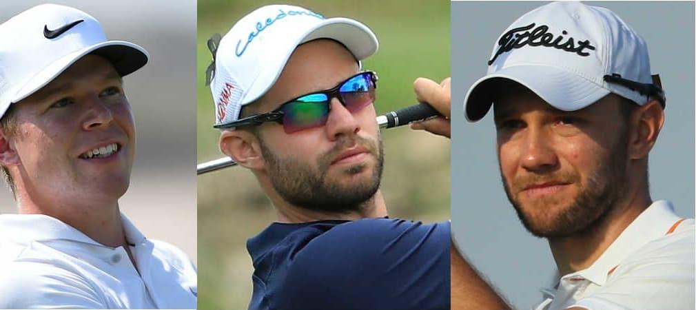 Dreifach Power kommt von Alexander Knappe, Bernd Ritthammer und Maximilian Kieffer bei der Tshwane Open. (Foto: Getty)