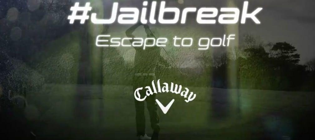 Raus aus dem Alltag und rein ins Golferlebnis. Jetzt den Ausbruch starten und #Jailbreak-Moment sichern. (Foto: Callaway)