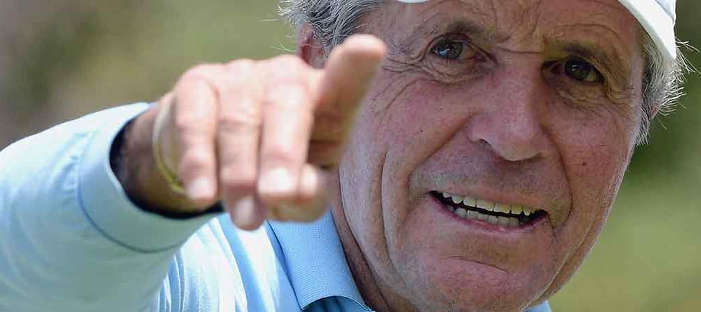 Gary Player hätte gern seine Senior-Open-Siege als Majortitel anerkannt. (Foto: Getty)
