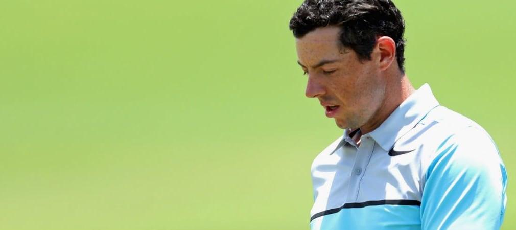 Rory McIlroy muss die BMW PGA Championship wegen einer Rippenverletzung absagen. (Foto: Getty)