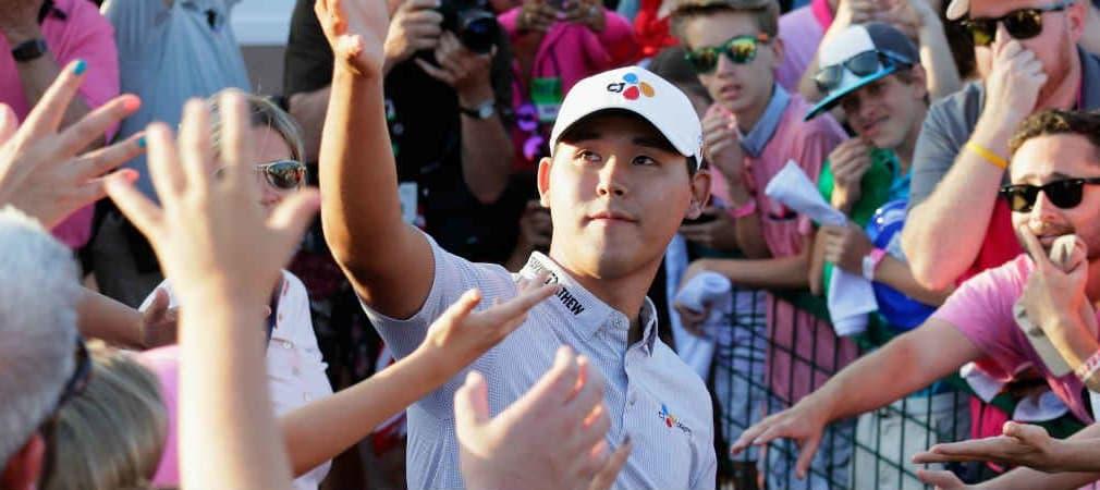 Si Woo Kim trägt sich mit seinem Sieg bei der Players Championship gleich mehrfach in die Geschichtsbücher ein.
