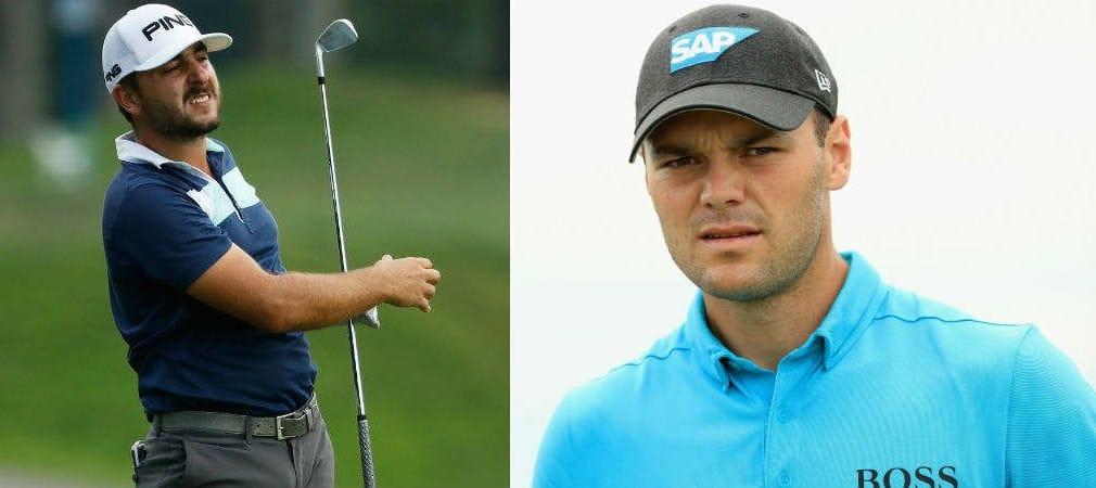 Zum Abschluss der US Open mussten Martin Kaymer und Stephan Jäger nochmal gehörig kämpfen. (Foto: Getty)