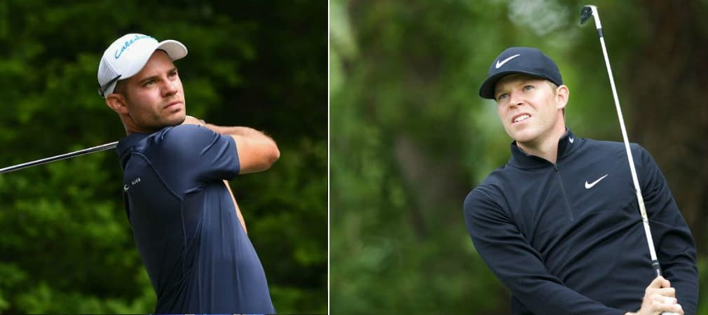 Bernd Ritthammer und Alexander Knappe befinden sich nach dem Moving Day der Scottish Open in den Top 10. (Foto: Getty)