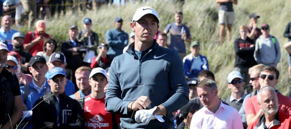 Rory McIlroy kam bei der British Open 2017 erst spät in Fahrt. (Foto: Getty)