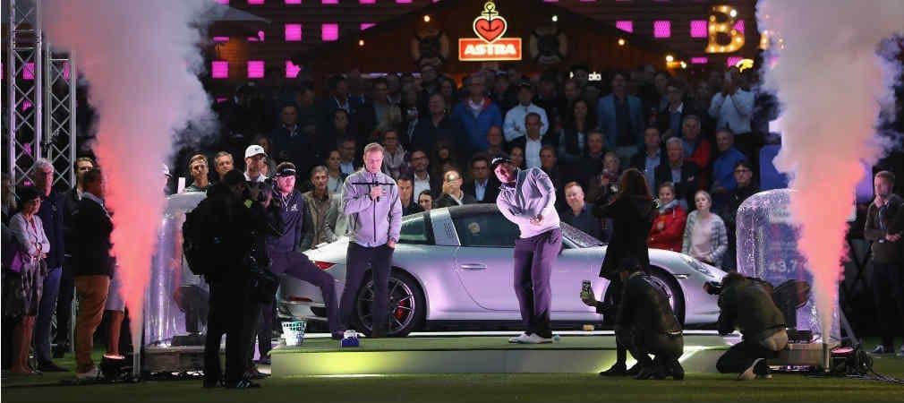 Kick-Off der Porsche European Open 2017 mitten auf dem Hamburger Kiez. (Foto:Getty)