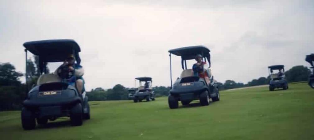 Die Bands Beatsteaks und Deichkind rocken in ihrem neuen Musikvideo den Golfplatz des GC Gut Kaden in Hamburg. (Foto: youtube.com)