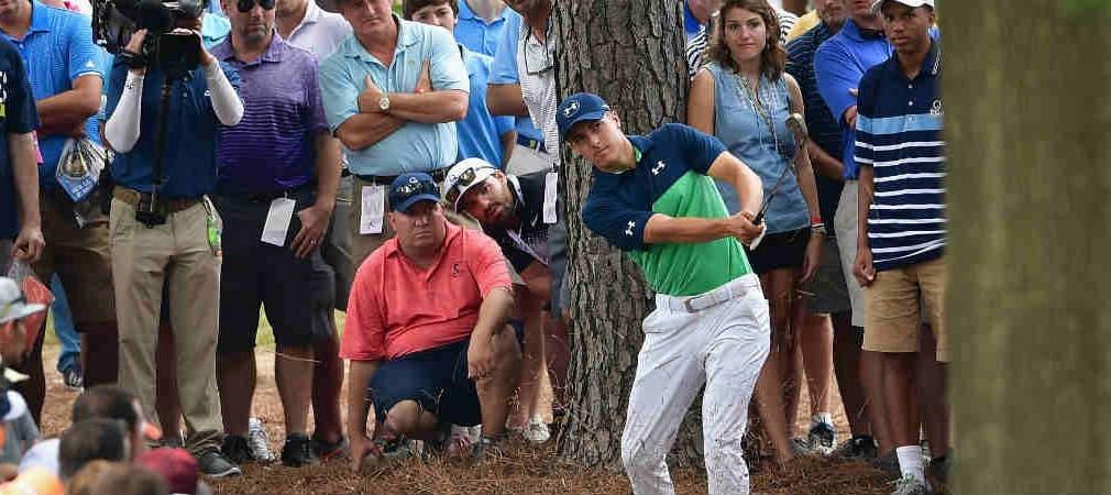 Jordan Spieth wird bei der PGA Championship 2017 zaubern müssen, um den Karriere-Grand-Slam noch zu schaffen. (Foto: Getty)