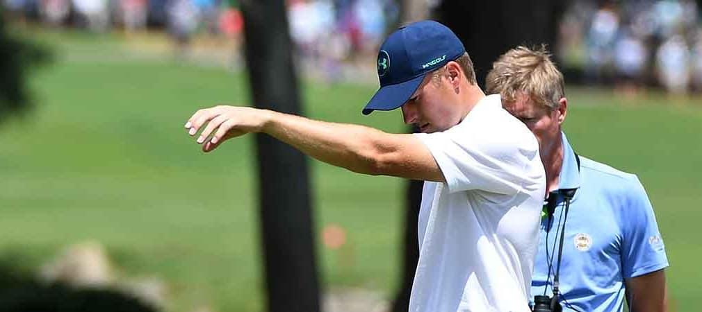 Jordan Spieth vergibt bei der PGA Championship 2017 am Moving Day die letzte Siegchance. (Foto: Getty)