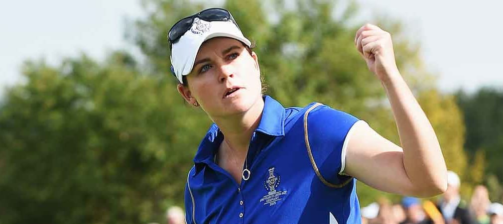 Caroline Masson ist zum dritten Mal Teil des europäischen Teams beim Solheim Cup. (Foto: Getty)