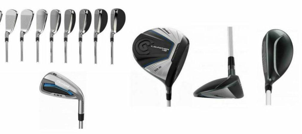 Cleveland Golf veröffentlicht neue Hardware. Zwei Eisensätze, einen Driver, ein Holz und ein Hybrid umfasst die neue Launcher Serie. (Foto: Cleveland Golf)