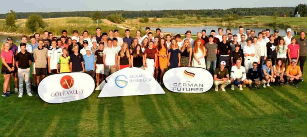 Ein Gruppenfoto aller Teilnehmer des German Futures in Golf Valley. (Foto: Frank Föhlinger)