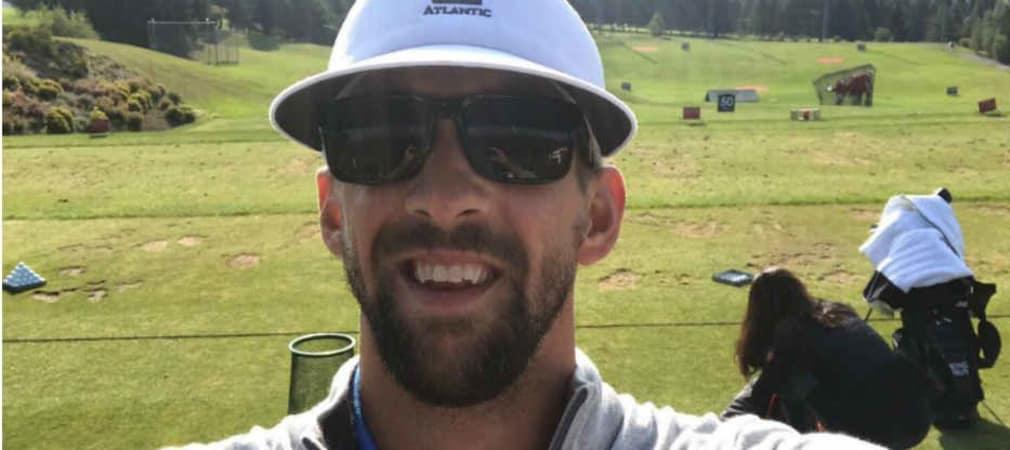 Michael Phelps tritt beim Omega European Masters für den guten Zweck an. (Foto: Twitter/@omegaEUmasters)