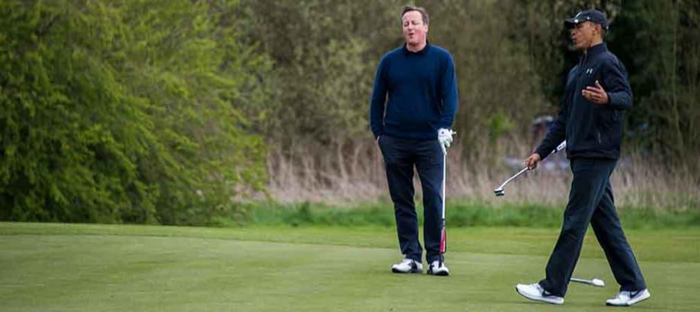 Golfende Politiker (Foto: Getty)