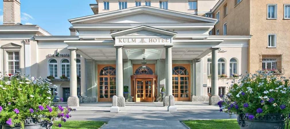 Das Kulm Hotel St. Moritz - Luxus, Tradition und zeitgemässer Komfort. (Foto: Kulm Hotel St. Mortiz)