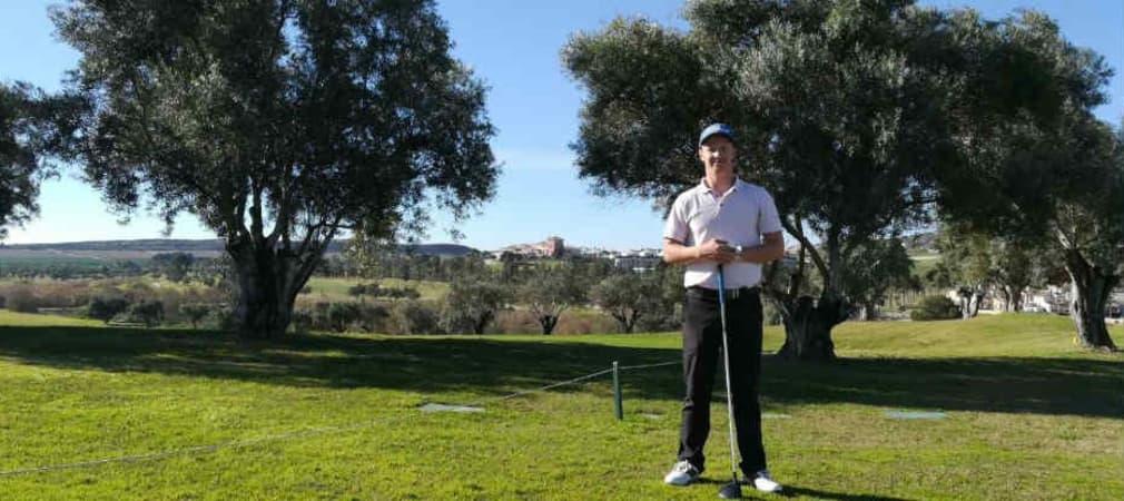 Birk Bergdahl spielt auf der Pro-Golf-Tour und erklärt wie er im Winter trainiert. (Golf Post)