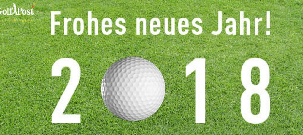 Golf Post wünscht Ihnen ein frohes neues Jahr 2018! (Foto: Golf Post)