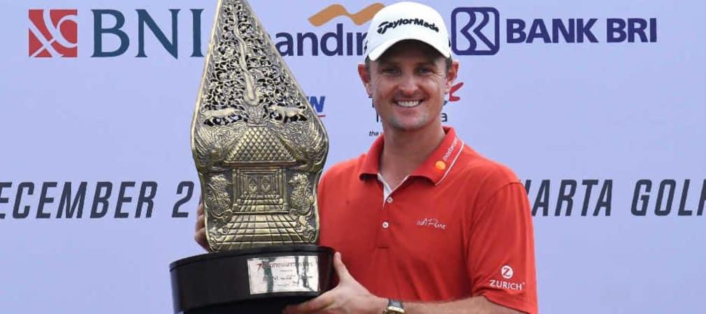 Keiner konnte ihn stoppen: Justin Rose beim Indonesian Masters 2017. (Foto: Getty)