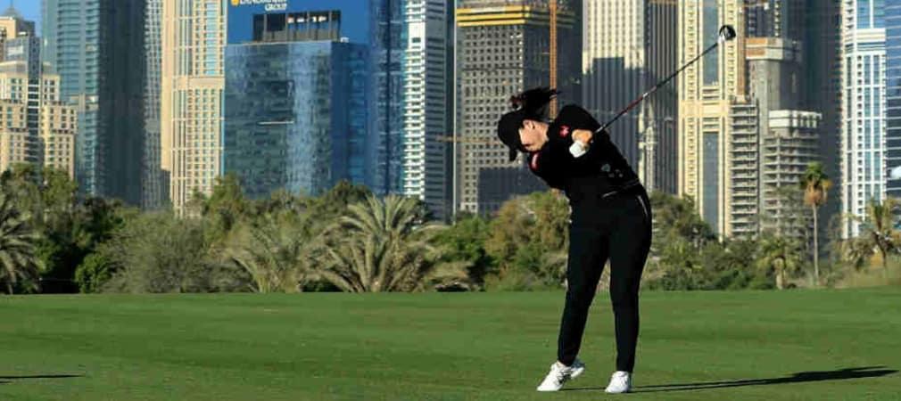 Angel Yin gewinnt die LET Omega Dubai Ladies Classic. (Foto: Getty)
