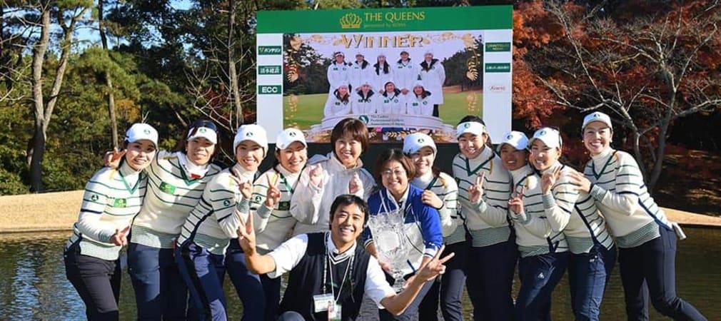 The Queens 2017 Sieger Team Japan
