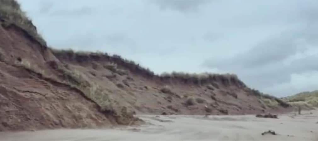 Back Nine Golf Links Klimawandel Meeresspiegel Erosion bedroht Golfplätze