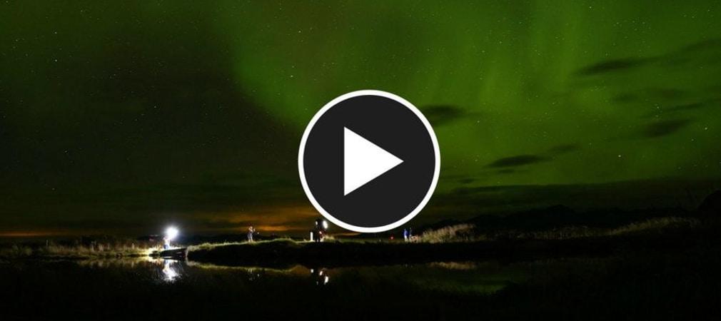 Auf dem Lofoten Links Golfplatz in Nord-Norwegen setzte KJUS seine neueste Golfkollektion in Szene. (Foto: KJUS)