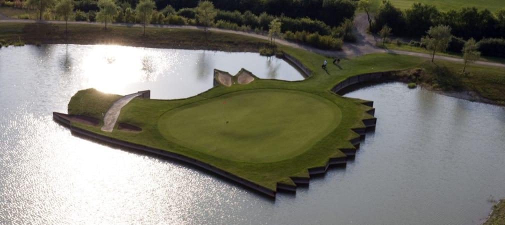 Eine beeindruckende Ansicht: Der Keilerkopf des Golf Club Hardenberg. (Foto: Facebook.com/@Golf-Club-Hardenberg)