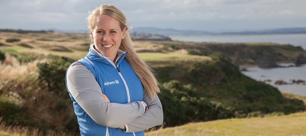 Caroline Larsson wurde nach einer schweren Krankheit das rechte Bein teilamputiert. (Foto: Bernd Ducke/Allianz)