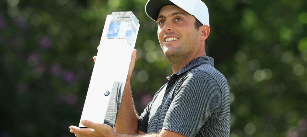 Francesco Molinari gewinnt die BMW PGA Championship im European-Tour-Heimatort vor Rory McIlroy. (Foto: Getty)