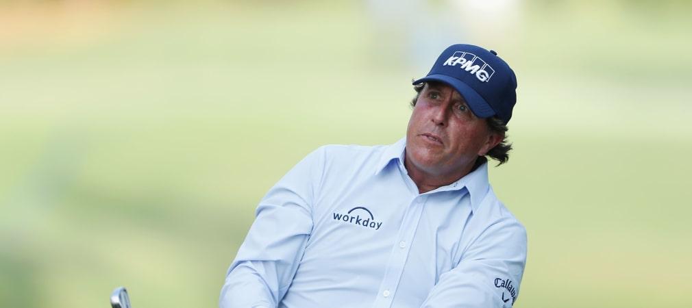 Phil Mickelson sorgte bei der Players Championship mit seinem Outfit für reichlich Diskussionen. (Foto: Getty)