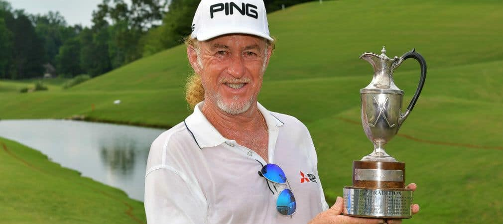 Mit drei Schlägen Vorsprung gewinnt Miguel Angel Jiménez das Regions Tradition auf der PGA Tour Champions. (Foto: Getty)