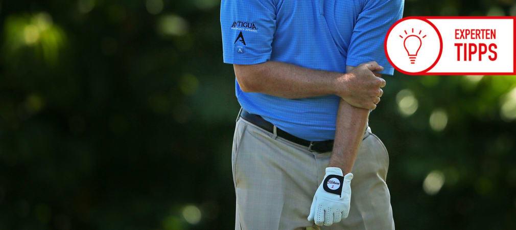 Trainingstipp Golf-Ellenbogen Frank Pudel