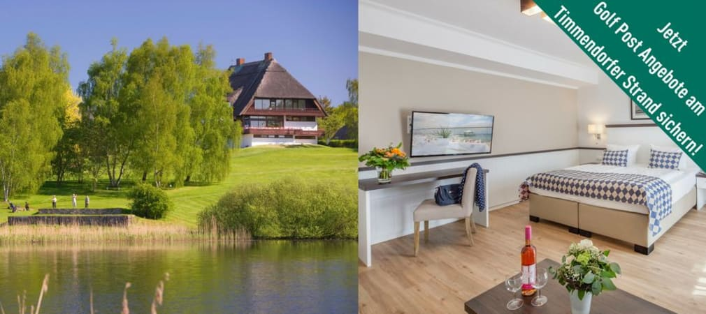 Die Golfanlage Seeschlösschen am Timmendorfer Strand hat für Golf Post Leser exklusiv drei Angebote gestrickt. (Foto: Golfanlage Seeschlösschen)