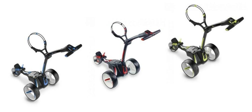 Drei Grundmodelle und insgesamt fünf neue E-Trolleys werden vom Branchenprimus zum Sommer veröffentlicht.(Foto: MotoCaddy)