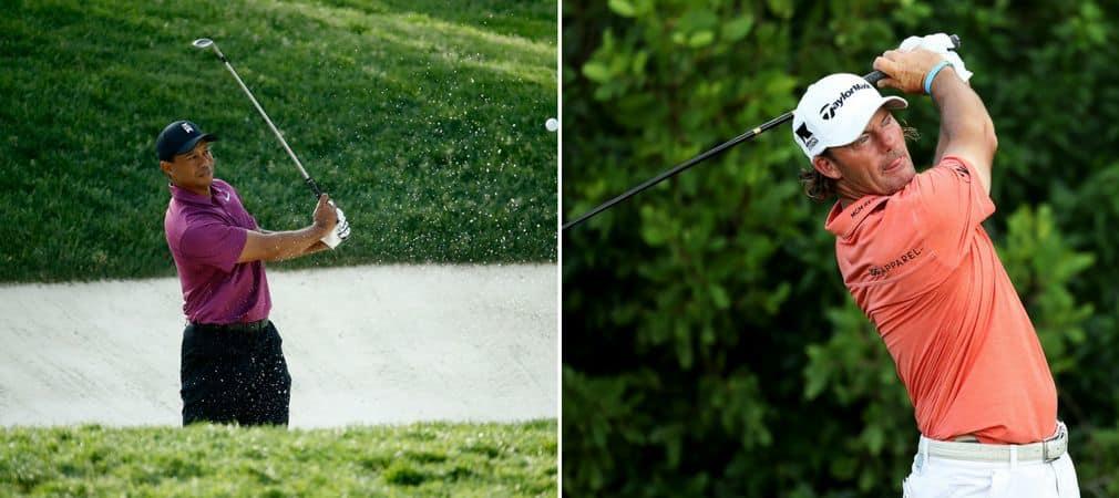 Tiger Woods und Alex Cejka befinden sich nach zwei gespielten Runden auf dem selben Rang bei dem Memorial Tournament auf der PGA Tour. (Foto: Getty)