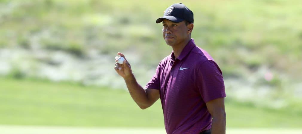 Starke zweite Runde von Tiger Woods beim Quicken Loans National auf der PGA Tour. (Foto: Getty)