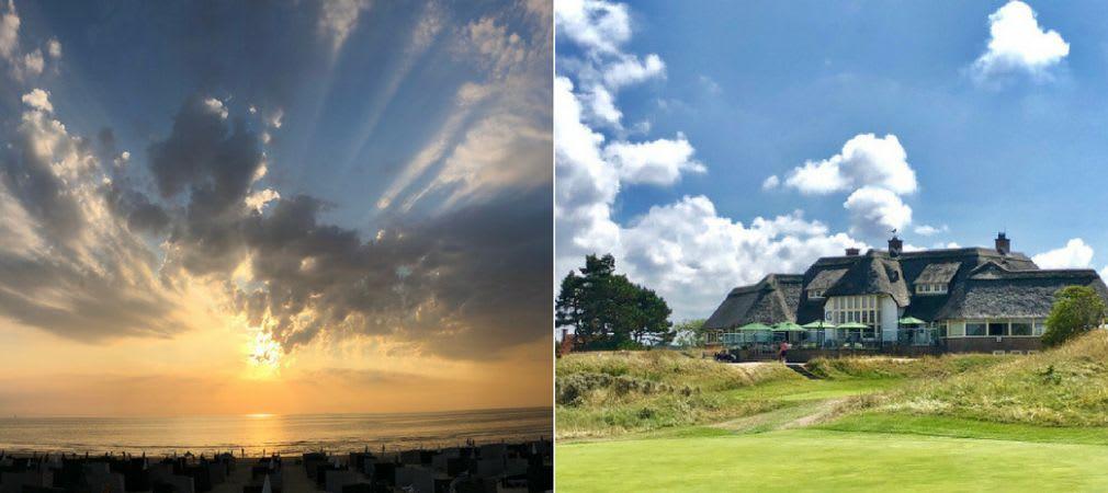 In Holland warten nicht nur fantastische Links-Kurse auf einen, sondern auch Natur und Strand. (Fotos: Jürgen Linnenbürger)