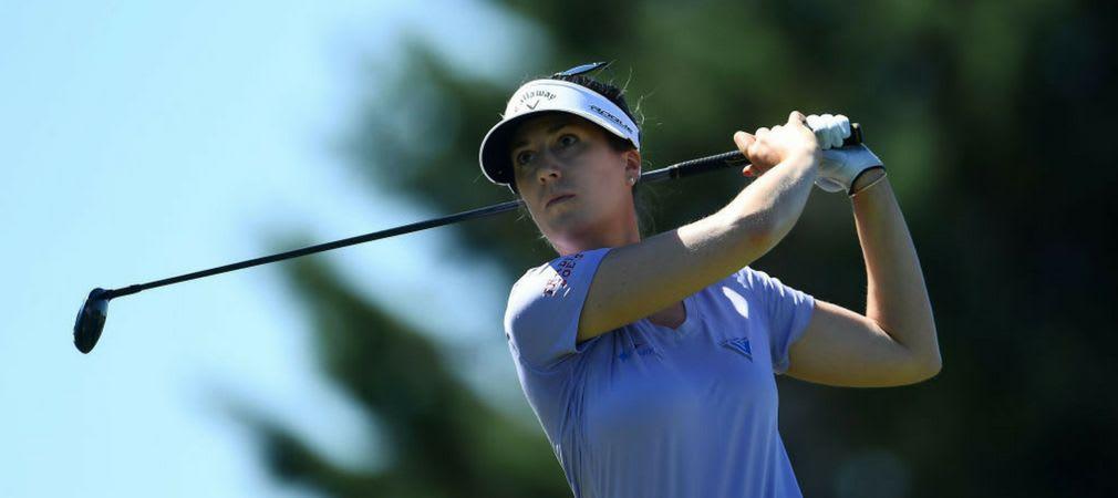 Sandra Gal spielt auf der LPGA Tour in Indiana um eine Top-Platzierung. (Foto: Getty)