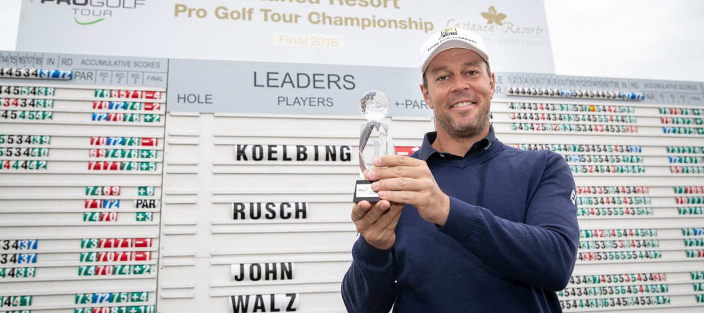 Pro Golf Tour Saisonfinale 2018 Sieger Jonas Kölbing