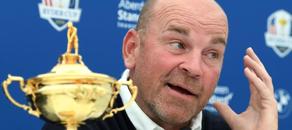 Ryder Cup Team Europa Captain's Picks Thomas Björn Liveticker