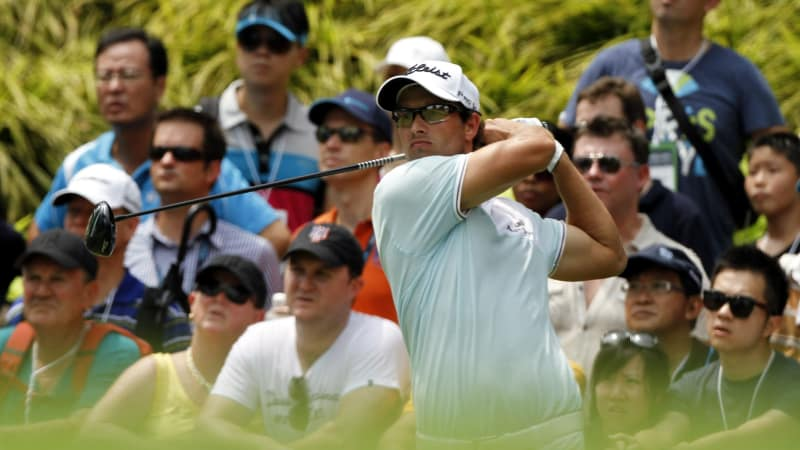 Adam Scott bei der Singapore Open 2012